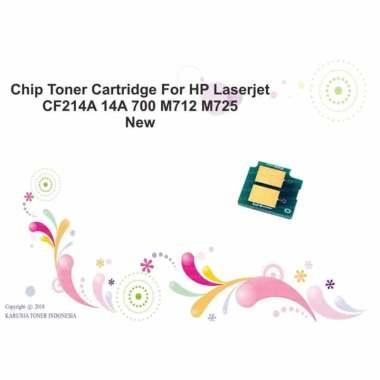 harga Chip Toner Cartridge For HP Laserjet HP 700 CF214A 14A 700 M712 M725 Monochrome Blibli.com