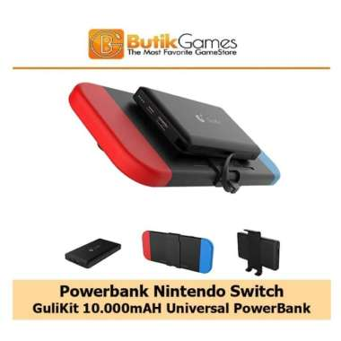 harga Powerbank Power Bank Nintendo Switch GuLikit 10000mAh Blibli.com
