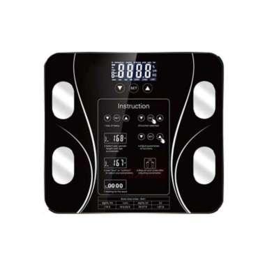 harga Timbangan Badan Digital Body Fat Monitor Body Fat Analysis 180KG Hitam Blibli.com