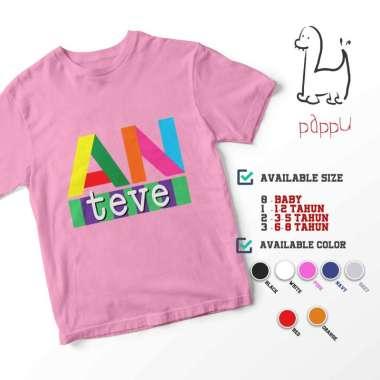 harga C/55 Kaos Anak ANTV TV Televisi Jadul Kids T-shirt 2 Pink Blibli.com