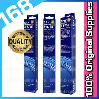 harga Ribbon Pack 8758 EPN Pita Refill Compatible Printer Epson LX 300 - LX 310 - LQ 310 Dot Matrix Ribbon Pack 8758 14meter Blibli.com