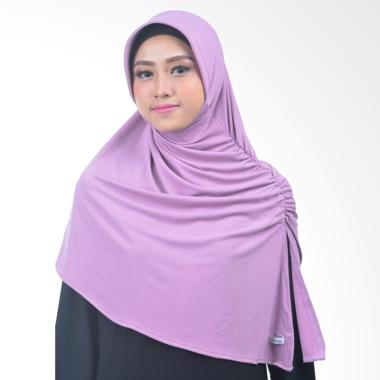 Atteena Hijab Annida Aznie Basic Jilbab Instant - Lavender