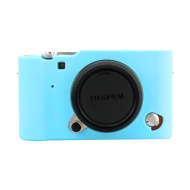 Godric Silicone Fujifilm X-A3 / X-A ...  Kamera Mirrorless - Biru