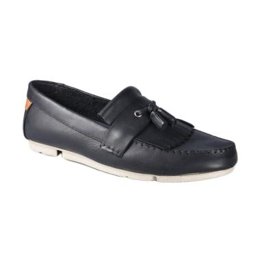Clarks 26119801 Trimocc Free Sepatu Pria - Navy Lea
