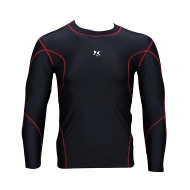 Lasona BM-S2954-L4 Baju Renang Pria - Black Red
