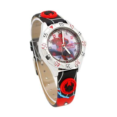 Marvel Spiderman ASM81035 B Jam Tangan Anak Hitam .