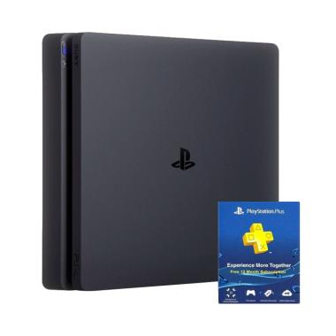Sony Playstation 4 Slim CUH 2006A 500GB + Free PSN 1 Year