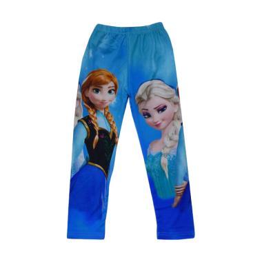 Wonderland Motif Frozen A Legging Anak