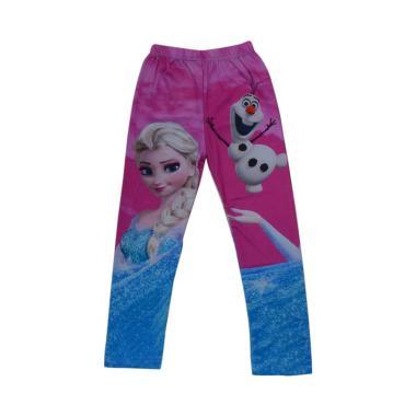 Wonderland Motif Frozen B Legging Anak