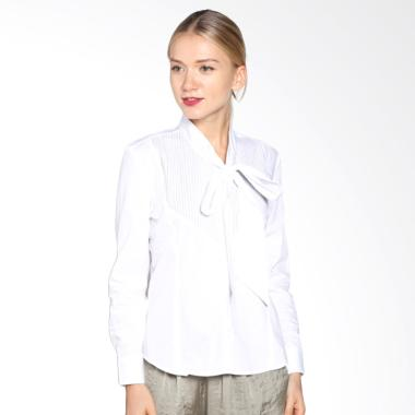 A&D Fashion Ms 2916-611 Long Sleeve Blouse - White