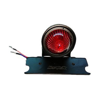 B-Rock Taillight Keong Lampu Rem Motor - Black