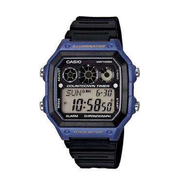 CASIO AE-1300WH-2A Digital Watch Jam Tangan Pria - Hitam