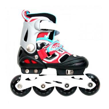 Cougar ADJ.Inline Skate W-ABEC7 MZS ...  Roda - Black Red [34-37]