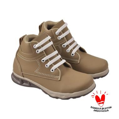 JAVA SEVEN Adrian AMU 010 Sepatu Boots Anak Laki-Laki - Beige