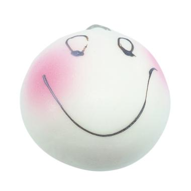 Chocobi Slime Jumbo Blush Bun Emoticon Squishy Gantungan Kunci