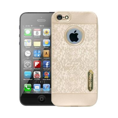 Motomo Softcase Casing for iPhone 5G - Gold