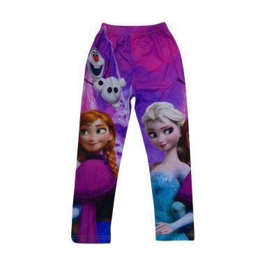 Wonderland Motif Frozen C Legging Anak