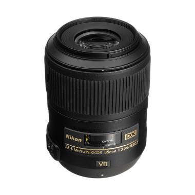 Nikon Lens AF-S 85mm F3.5 G ED VR Micro Lensa Kamera - Ladang