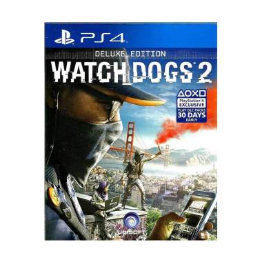Sony PS4 Watch Dogs 2 Deluxe Edition DVD Game