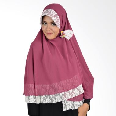 Atteena Hijab Khimar Isabel - Dusty Pink