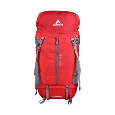 Eiger Eliptic Lunaris Tas Ransel - Red Grey [55 L]