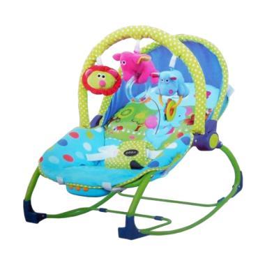 Pliko Rocking Chair Hammock 3 Phases Elephant Tempat Tidur Bayi