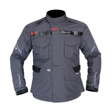 Respiro Nusantara R R3.1 Jaket Motor - Charcoal