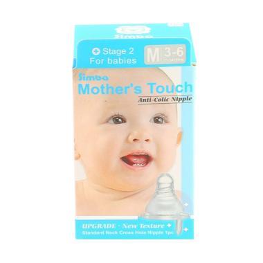 harga Simba Mother Touch Standard Cross Nipple Dot Bayi [Size M] White Blibli.com