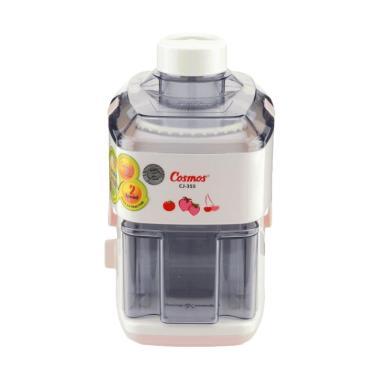 Cosmos CJ-355 Juicer - Putih Merah Muda [0.5 Liter]
