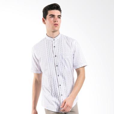 Manly Concoord Slim Fit Pattern Baju Koko