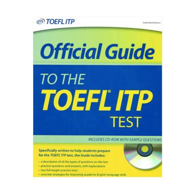 harga Erlangga Official Guide to the TOEFL ITP Test + CD by ETS Buku Bahasa Blibli.com