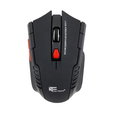 Fantech W4 USB Wireless Mouse Gaming - Hitam
