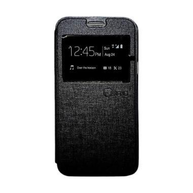 Nano Flip Cover Casing for Samsung Galaxy Tab 3V-T116 - Hitam