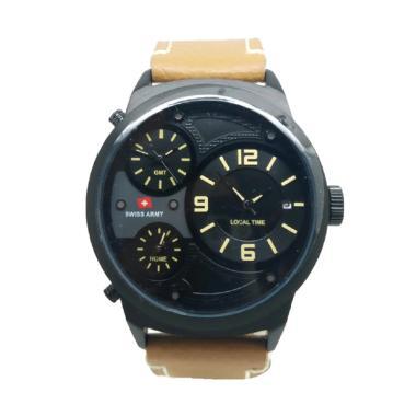 Swiss Army  SA1153 Jam Tangan Pria - Coklat Hitam