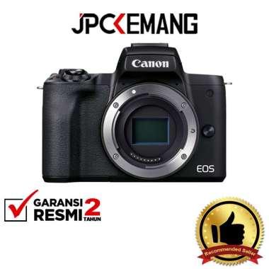 JPC KEMANG Canon EOS M50 Mark II Body Only / Canon M50 II Body GARANSI RESMI Black