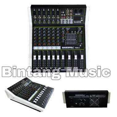 harga Power mixer hardwell PMR 6 original Hardwell Pmr 6 Hitam Blibli.com