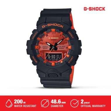 Casio G-Shock Jam Tangan Digital Analog Pria GA-800BR-1ADR Black Ori