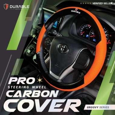 harga VW Sciroco New Beetle Phaeton Safari Touran Caravelle Transporter Combi Cover Stir Steer Sarung Setir Mobil Carbon Groovy Orange Hitam Blibli.com