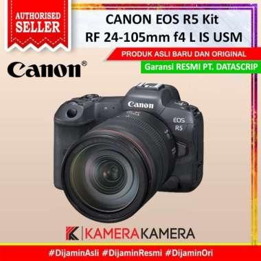 harga KameraKamera Canon EOS R5 Kit RF 24-105mm f4 L IS USM Mirrorless - Garansi Resmi Blibli.com