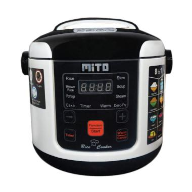 Mito R1 8 In1 Digital Mini Rice Cooker 1 Liter Hitam