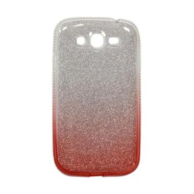 FS Glitter Motif Rainbow Casing for ...Grand Duos I9082 - Merah