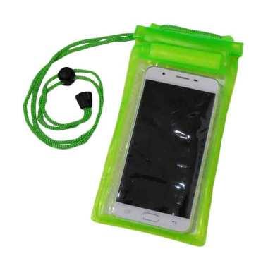 QCF Waterproof Pouch Case / Tas / T ... Ukuran XL Up To 6.0 Inch]