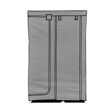 Nine box Lemari Pakaian - DW Grey [2 Pintu]