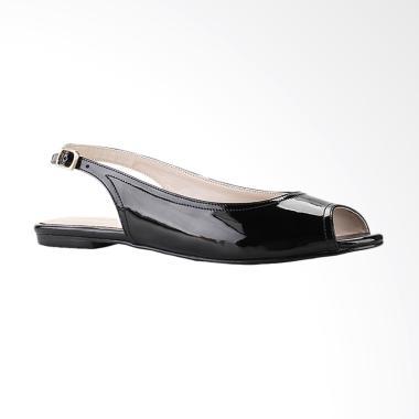 Marelli 1230 Sandal Flat Wanita - Hitam