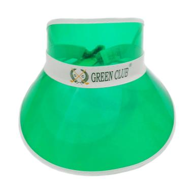 Green Club Golf Cap Visor Ladies Plastic VL 01-04