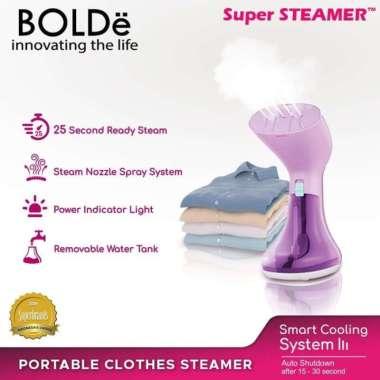 harga Setrika Uap BOLDe Super Steamer LAVIOLA - Ungu Blibli.com
