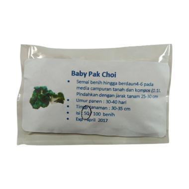 Puriegarden Baby Pak Choi Bibit Tanaman [50 Benih]