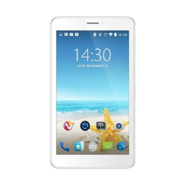 Advan I7A 4G LTE Vandroid Coffe Tablet - White [8 GB/1 GB]