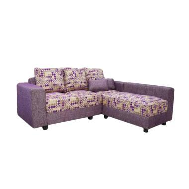 Ivaro Laurent L Sofa - Purple