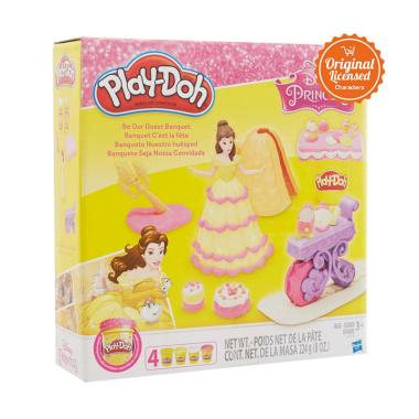 Play Doh Disney Be Our Guest Banquet Mainan Anak